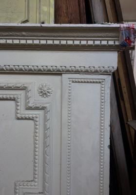 Porte de placard blanche