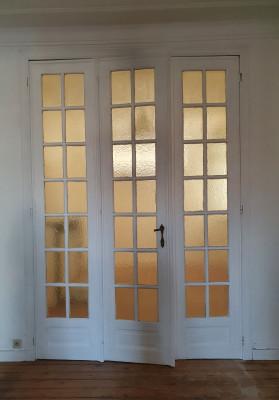 Triple Porte ancienne vitrée