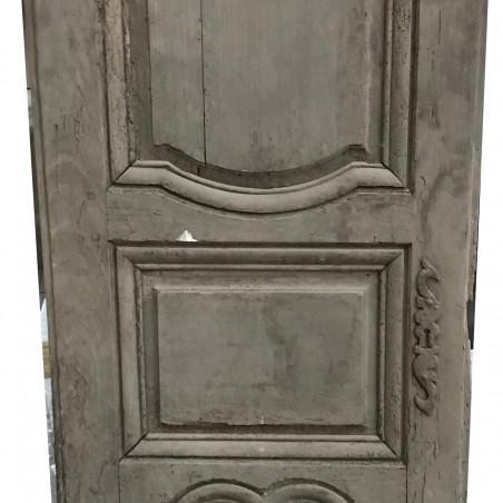 Façade de placard composée de 2 portes. Début XIXème.
