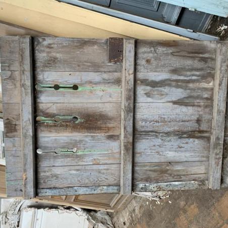 Porte entrée en bois
