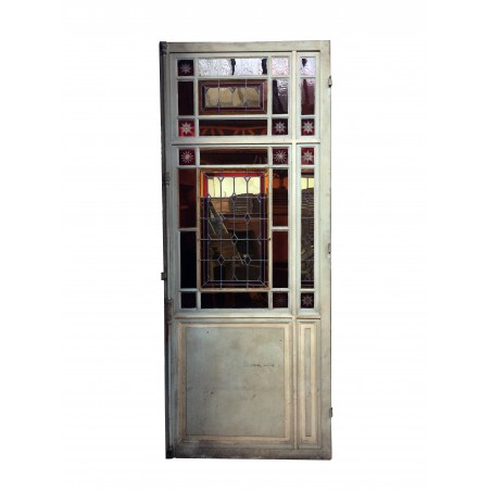 Très jolie porte extérieure ancienne en bois