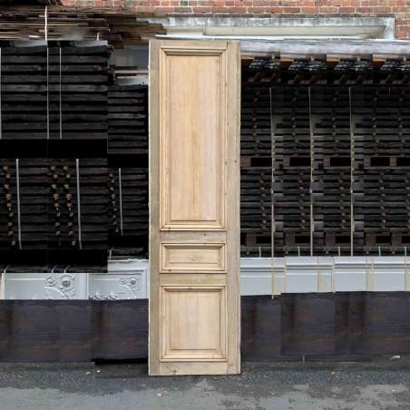 Porte ferronnerie avec bâti