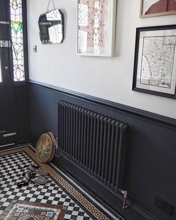 radiateur ancien classique une branche